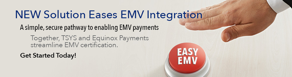 TSYS-Equinox Semi-integrated EMV Solution