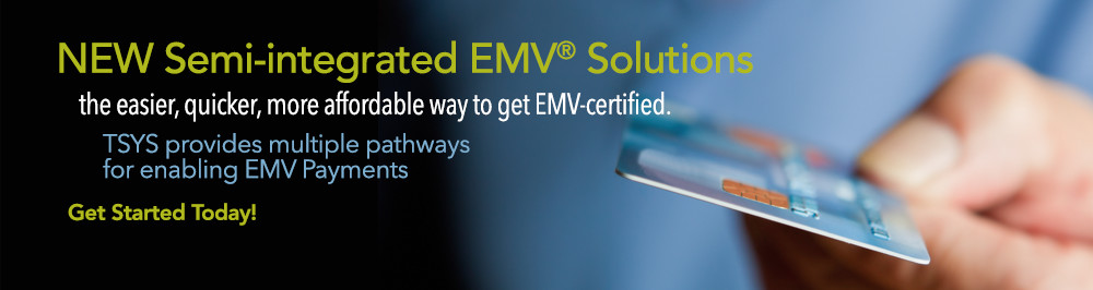 NEW Semi-integrated EMV Solutions
