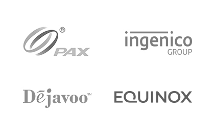 with solutions from Pax, Ingenico Group, Dejavoo, and Equinox